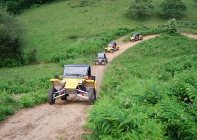 rutas en buggy
