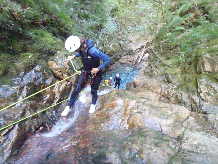 El barranquismo en Asturias, una forma de hacer ecoturismo